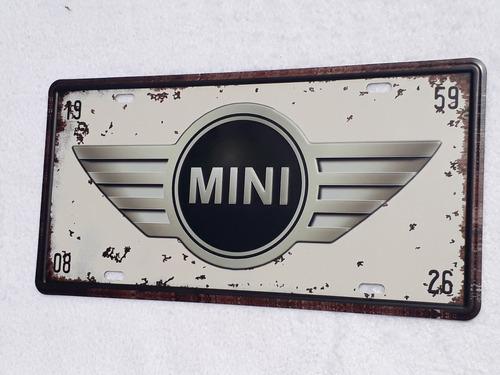 chapas matriculas retro vintage bmw mercedes mini new york