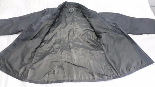 chaqueta de cuero argentino para dama,color gris!!