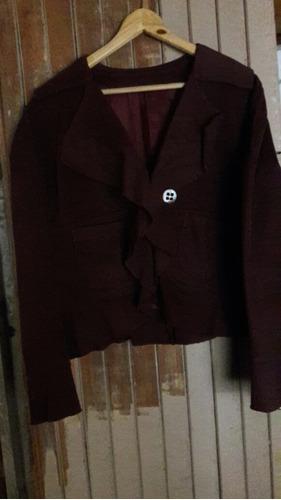 chaqueta de garbardina