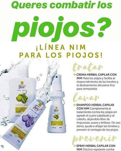 chau piojos! crema herbal capilar con neem 31 just