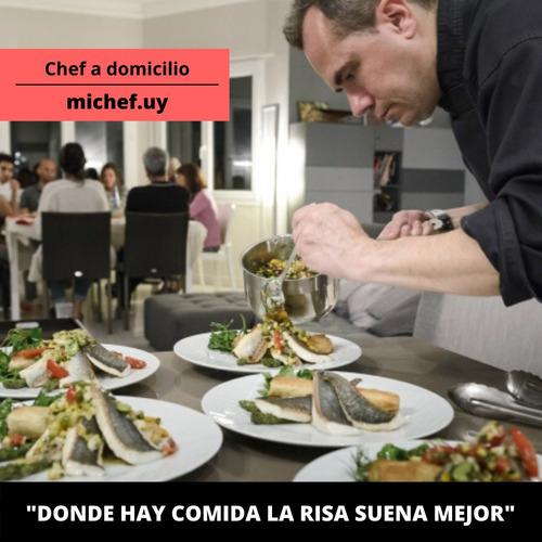 chef y cocinero a domicilio
