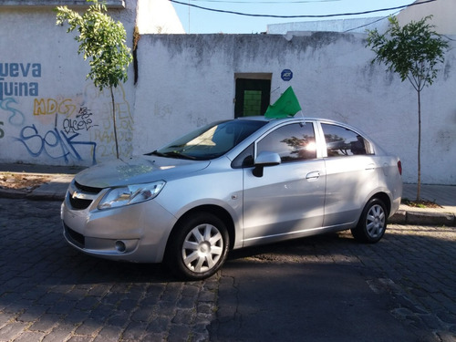chevrolet sail - financio 100% - permuto - masautos