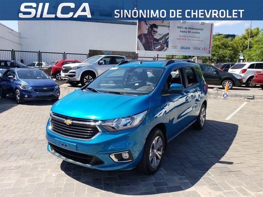 Chevrolet Spin Ltz 7 Pasajeros Mt 2019 Azul 0km Us 26990 En