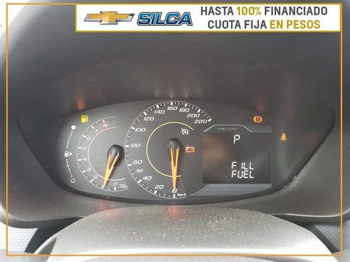 chevrolet spin spin activ mt 2019 gris oscuro 0km