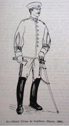chile army  book reseña historica milicia & guardia nacional