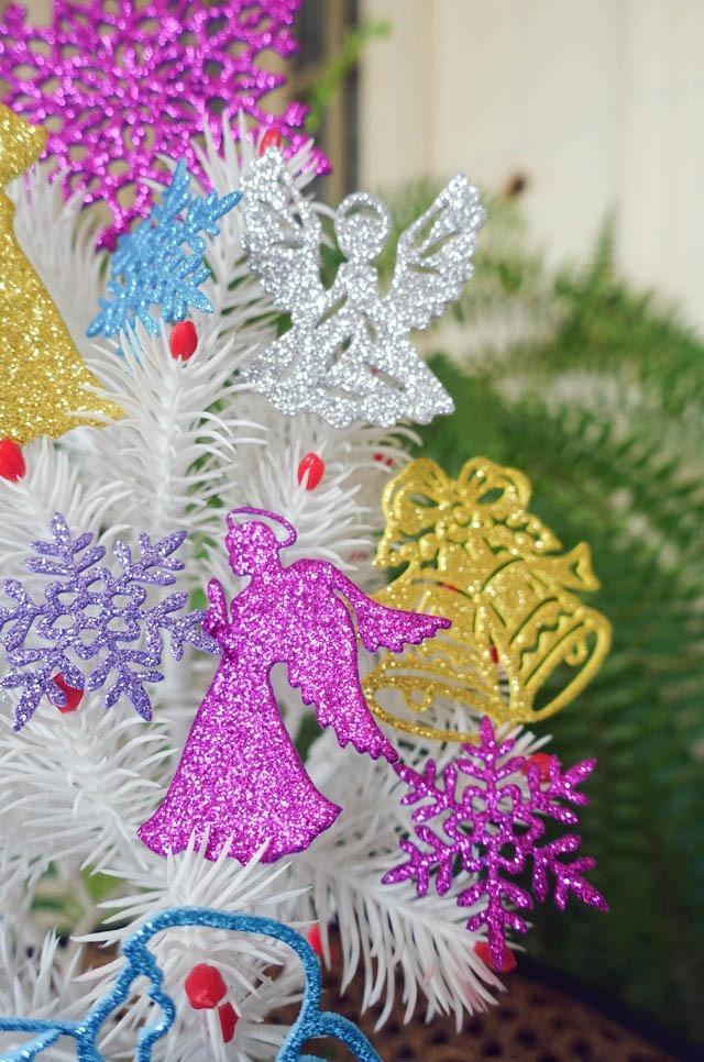 d05596d8e54 chirimbolos adornos arbol navidad angeles goma eva brillante cargando zoom  with adornos de navidad hechos con goma eva.