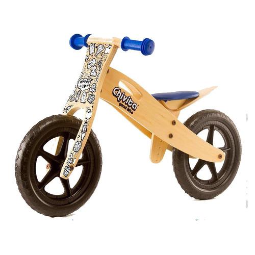 chivita bici sin pedales de madera para niño y niña gh.equip