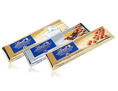 chocolate lindt pack x 3 de 300 gr c/u