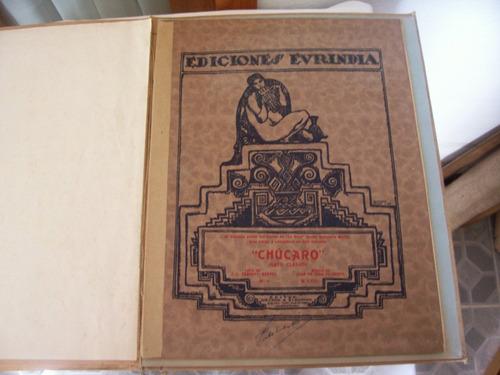 chúcaro - partitura autografiada año 1924