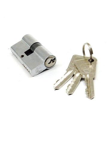 cilindro cerradura puerta 3 llaves x 6 unidades 59mm x 32mm