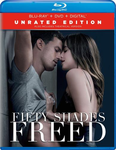 cincuenta sombras liberadas combo blu-ray + dvd original
