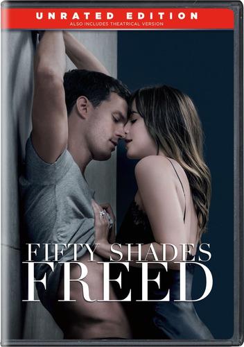 cincuenta sombras liberadas en dvd original
