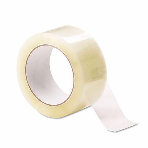 cinta adhesiva transparente rollo 48mmx 100 metros
