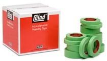 cinta de papel verde 130°c colad holandesa 50 meros x 19 mm