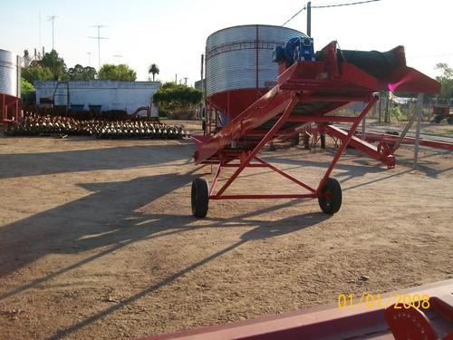 cinta elevadora de grano