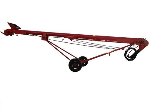 cinta elevadora de grano motor hidraulico con rueda