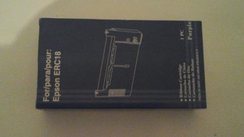 cinta impresora epson erc 18 / samsung 49-15