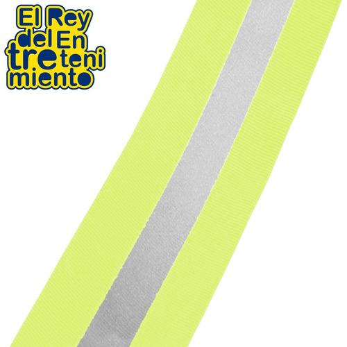 cinta p/ marcar cancha elástica fluor día/noche metro el rey