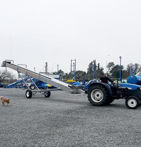cinta transportadora de granos inoxidable 8m j. hartwich