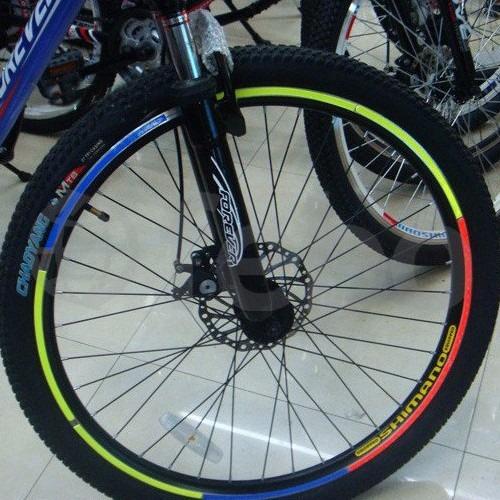 cintas reflectivas para ruedas de bicicleta