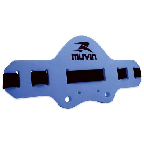 cinto flutuante hidroginástica / natação - azul - muvin