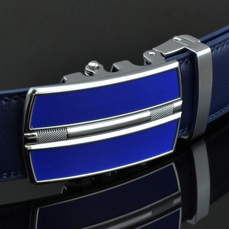 Cinturon Azul De Cuero -   999 25f3e28f2ba1