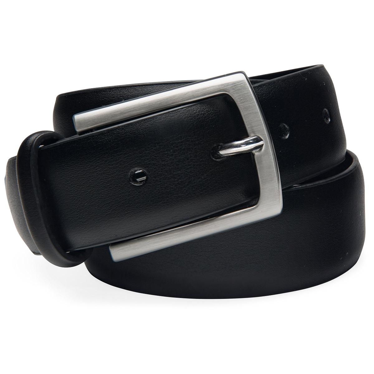 2d0920de297 Cinturón De Cuero Negro Para Hombre De Vellette - ¡divers - U S 50 ...