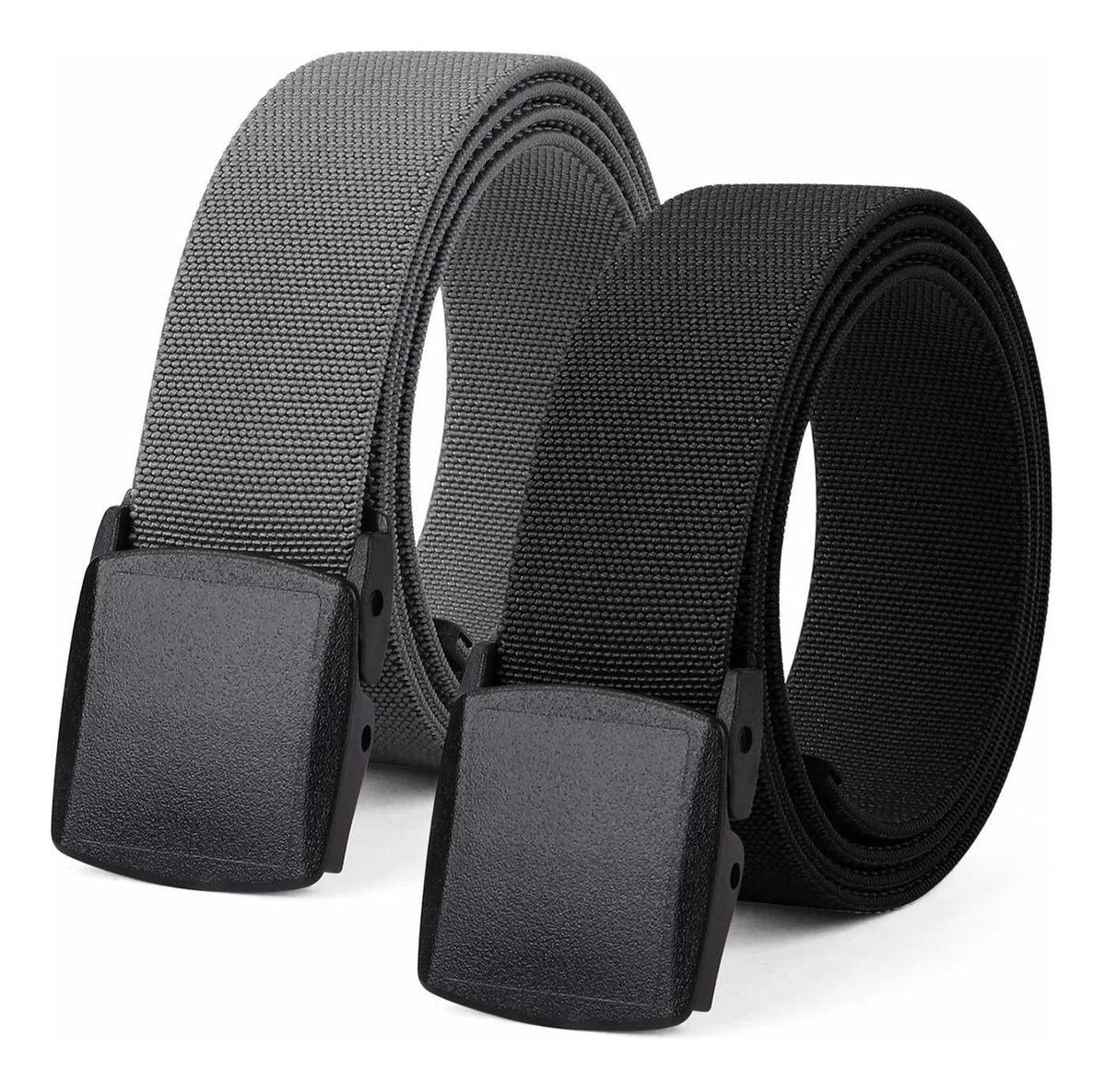 Precio de fábrica 2019 de calidad superior atarse en Cinturón Elástico Para Hombre, Cinturón De Plástico Para