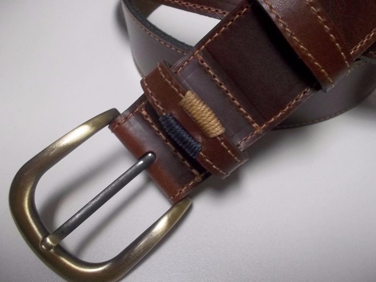Cinturon Para Hombre Cuero Doble - 3 A 4 Cms. De Ancho - -   650 627f83e4ee63