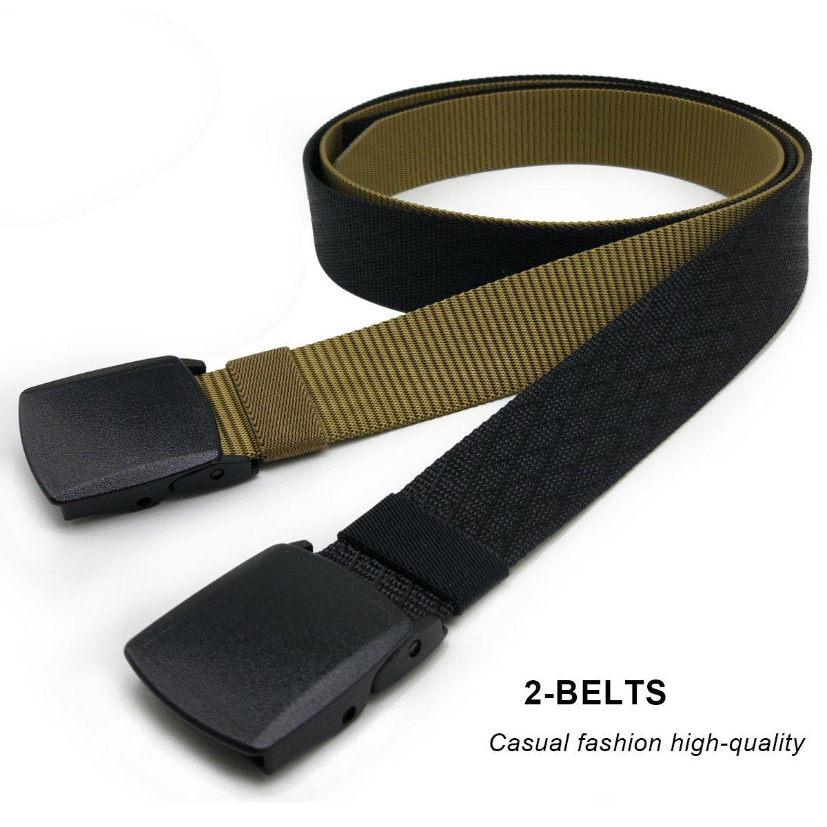 3ff01b8d0 Cinturón Táctico Militar Hoanan De 2 Paquetes