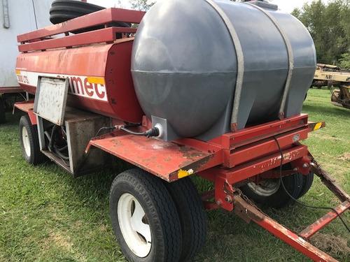 cisterna aumec para combustible con bomba 12v mb estado