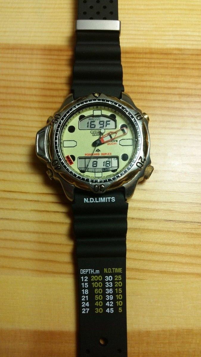 2f68b3632771 Citizen Aqualand 2 (reloj De Buceo). Modelo C506 - U S 290