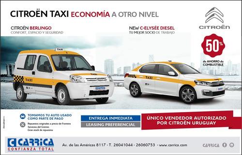 citroën new c-elysée 1.6 diesel para taxí y remise