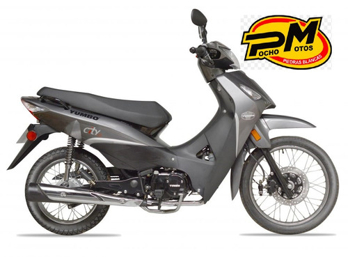 city 125 s top  px  c110 casco empa y 100% financiada!!