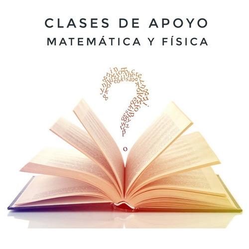 clases apoyo liceal y universitario matemática y física