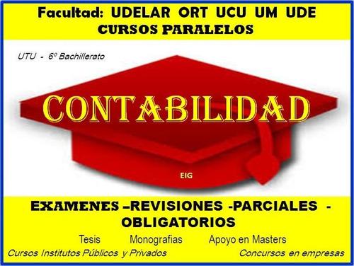 clases contabilidad profesor particular facultad 091696312