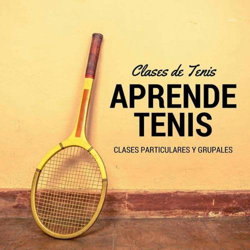 clases de tenis particulares y grupales. profesor de tenis