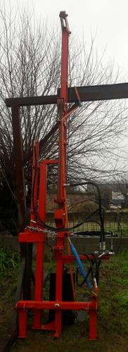 clavador de postes- hincadora- clava palos - hidraulica