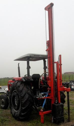 clavadora de postes - hincadora- clava palos - hidráulica