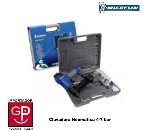clavadora neumática michelin de grapas 4 - 7 bar 1067 g p