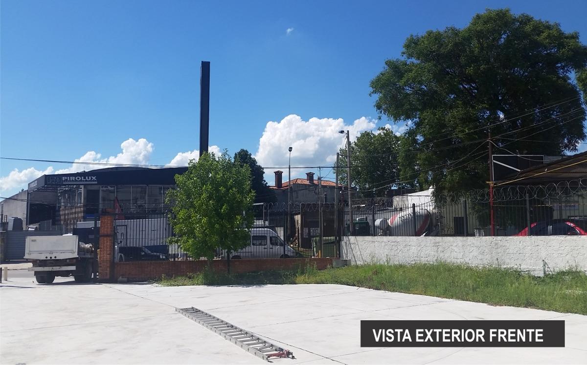 cno. carrasco galpón nuevo 726 m2 techados, 1580 de terreno