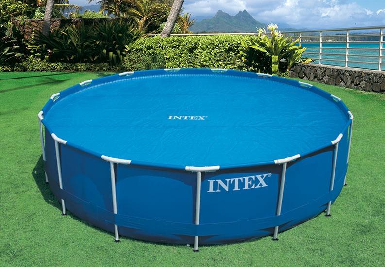 Cobertor lona solar para piscinas intex 29023 di metro for Albercas de plastico intex