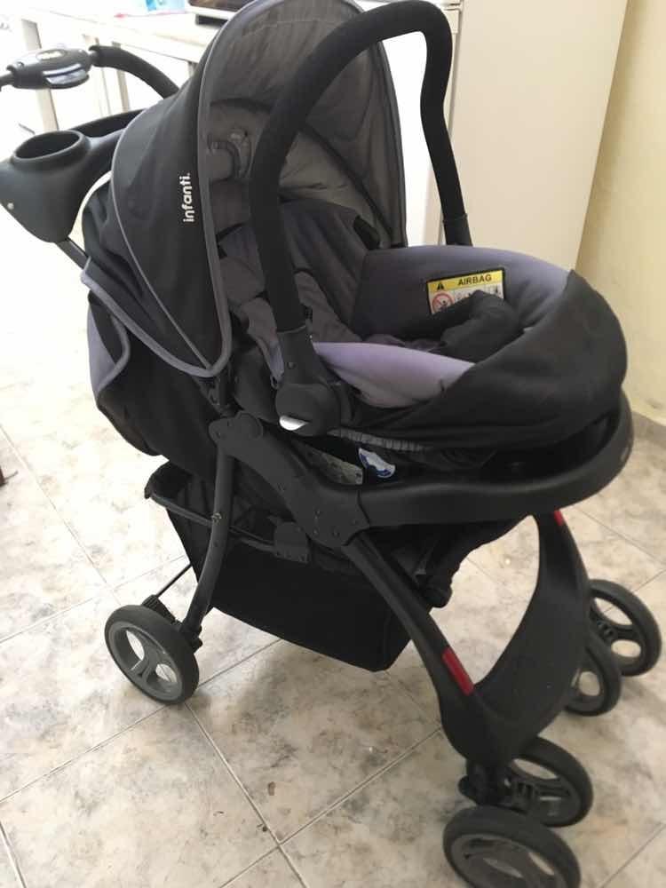 d77d0fd2e Coche De Bebé Infanti Modelo Pompeya - $ 3.500,00 en Mercado Libre
