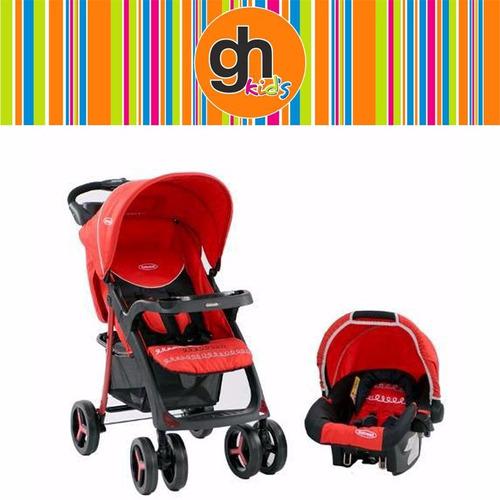 coche de bebe,modelo lisboa,con baby silla para auto,bebesit