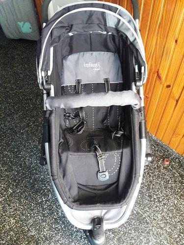 coche oddex infanti + silla de auto y base
