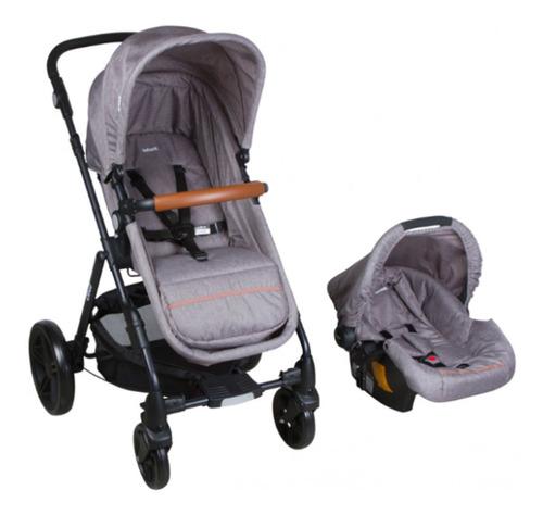 coche travel system cloud gris infanti- bebés y niños