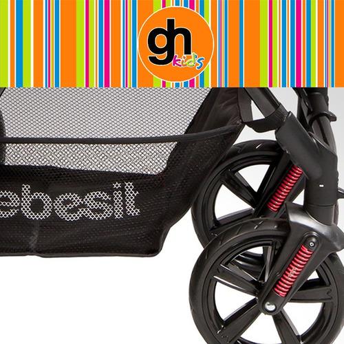 coches bebe bebesit modelo galaxi + baby silla y tul en gh