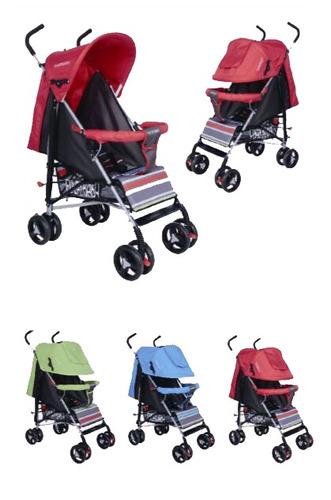 coches bebé paraguitas aluminio con capó 8 ruedas