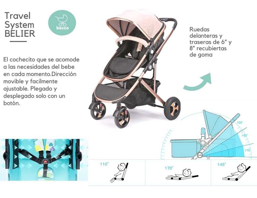 Coches Nuevos Para Bebes. Liquidacion! Modelo Travel System - U$S ...