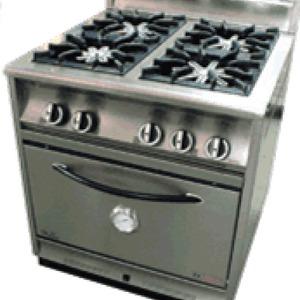 Cocina 4 Fuegos Y Horno A Gas Fornax Mod Ar 501